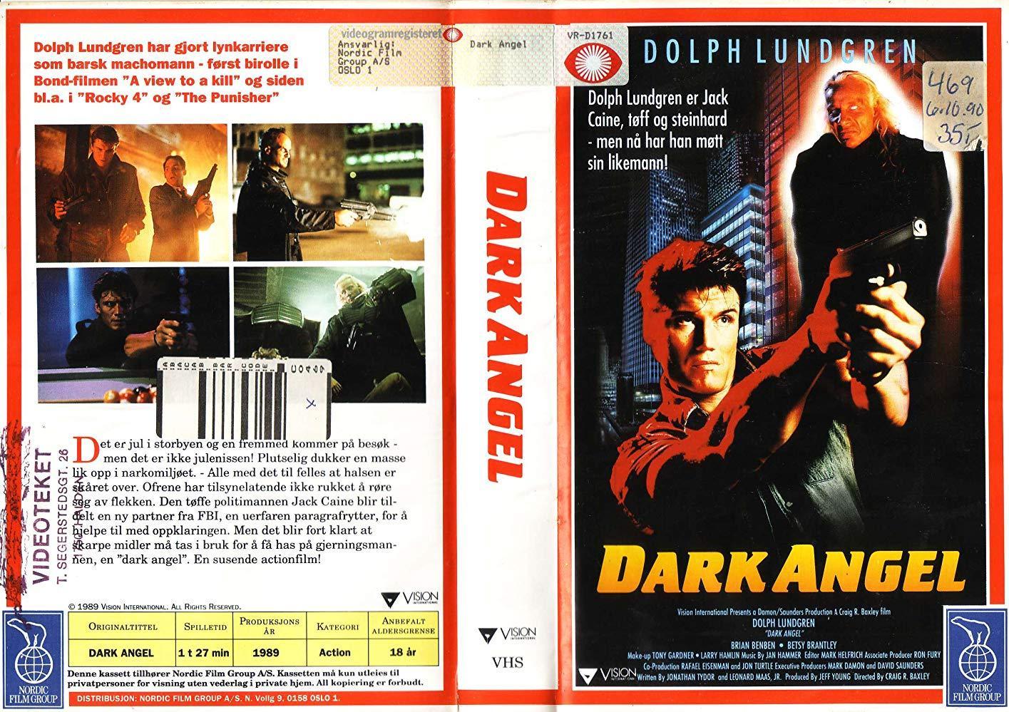 مشاهدة فيلم Dark Angel 1990 HD مترجم كامل اون لاين