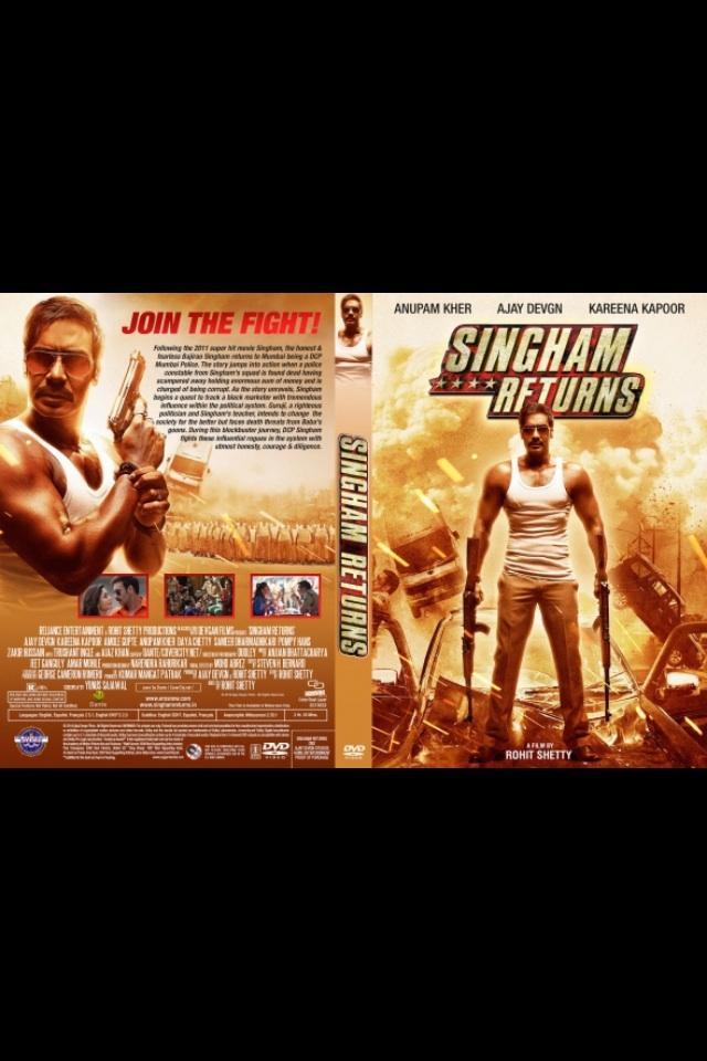 مشاهدة فيلم Singham Returns 2014 HD مترجم كامل اون لاين