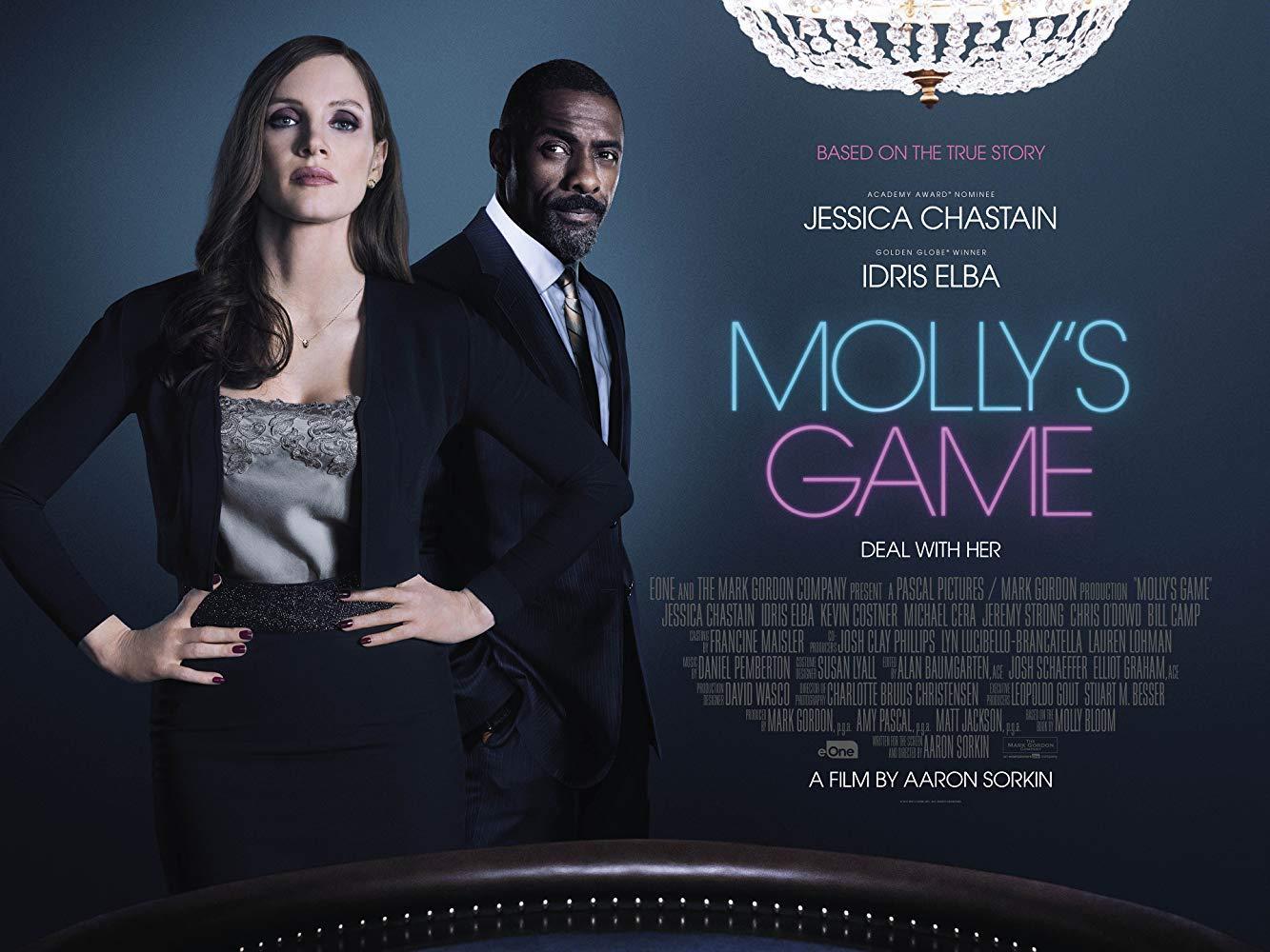 مشاهدة فيلم Molly's Game 2017 HD مترجم كامل اون لاين