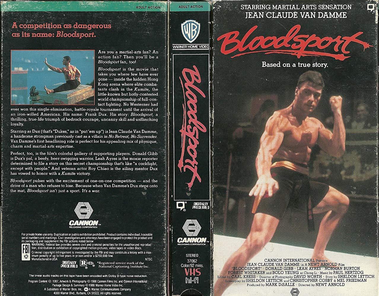 مشاهدة فيلم Bloodsport 1988 HD مترجم كامل اون لاين
