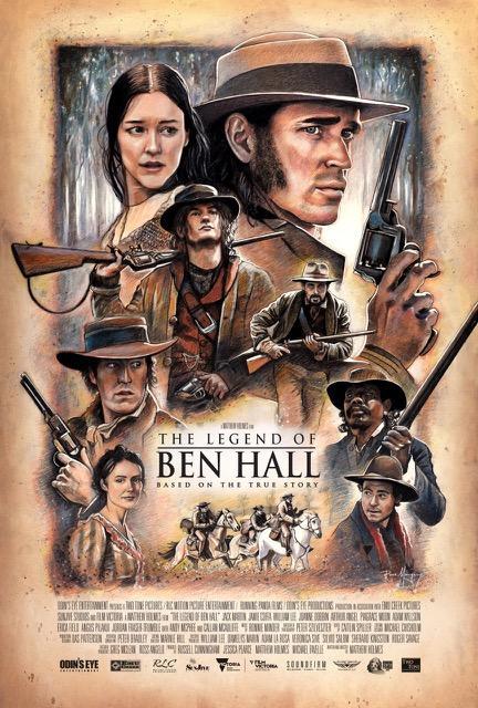 مشاهدة فيلم The Legend of Ben Hall 2016 HD مترجم كامل اون لاين