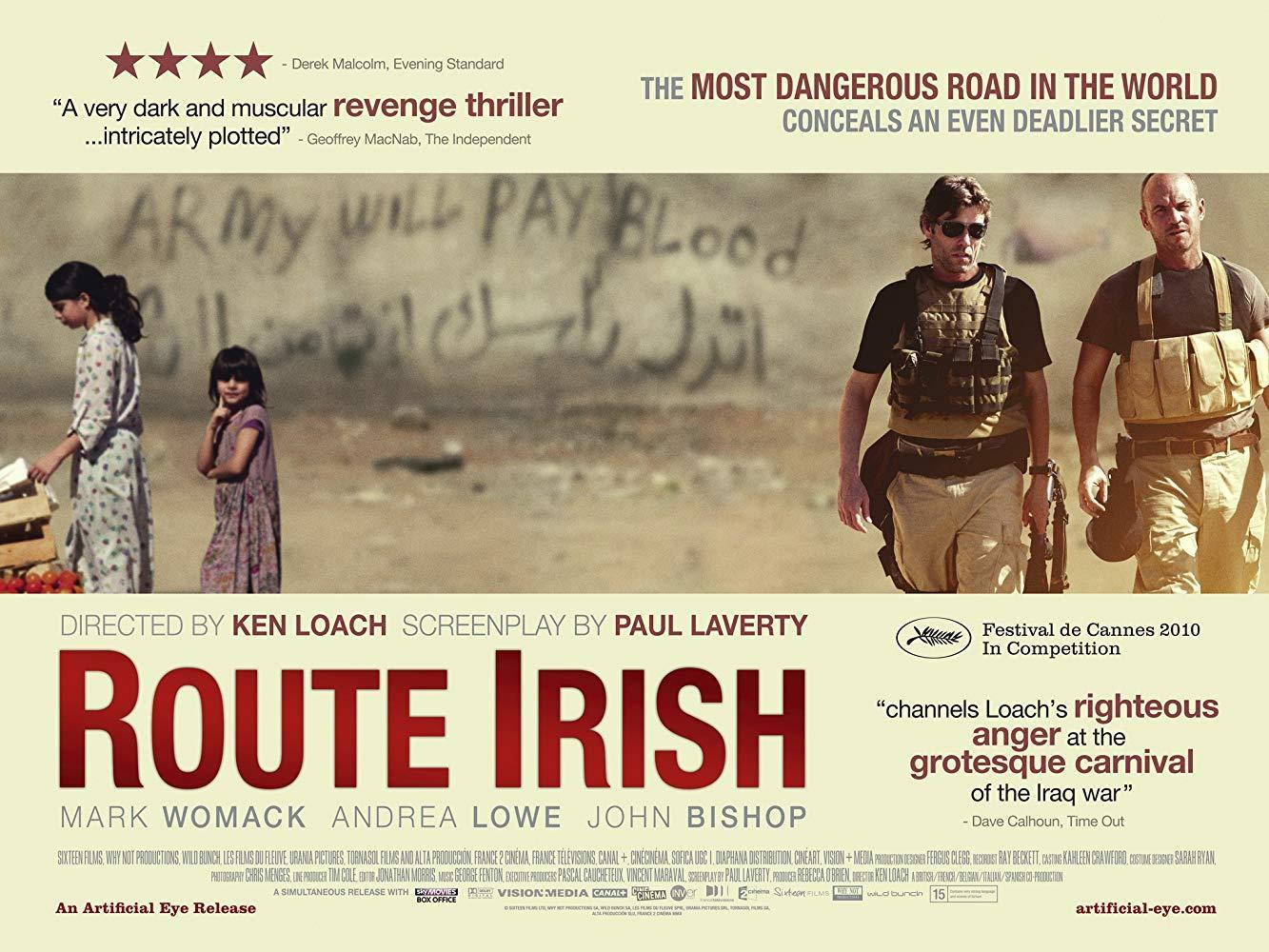 مشاهدة فيلم Route Irish 2010 HD مترجم كامل اون لاين