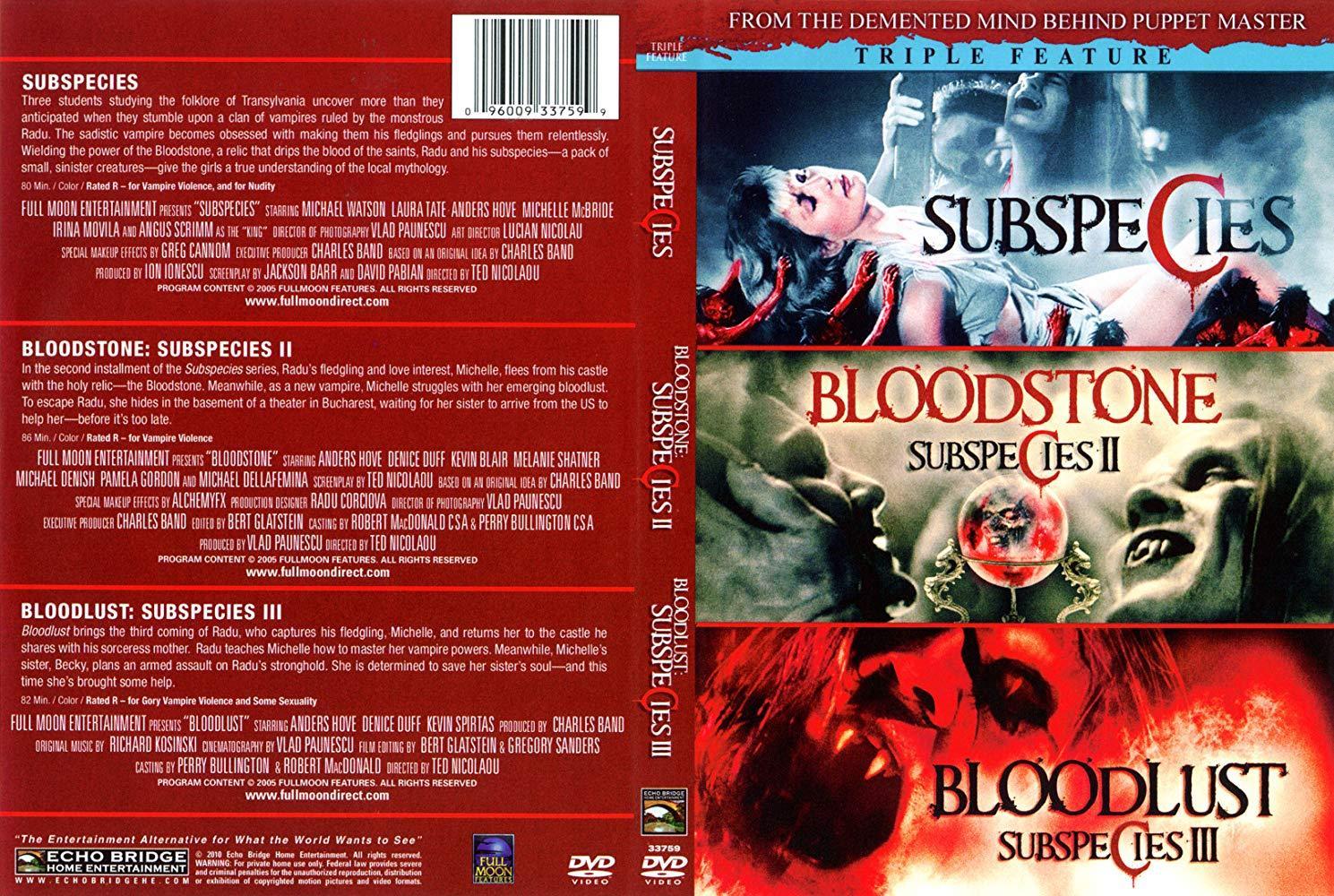 مشاهدة فيلم Bloodstone Subspecies II 1993 HD مترجم كامل اون لاين