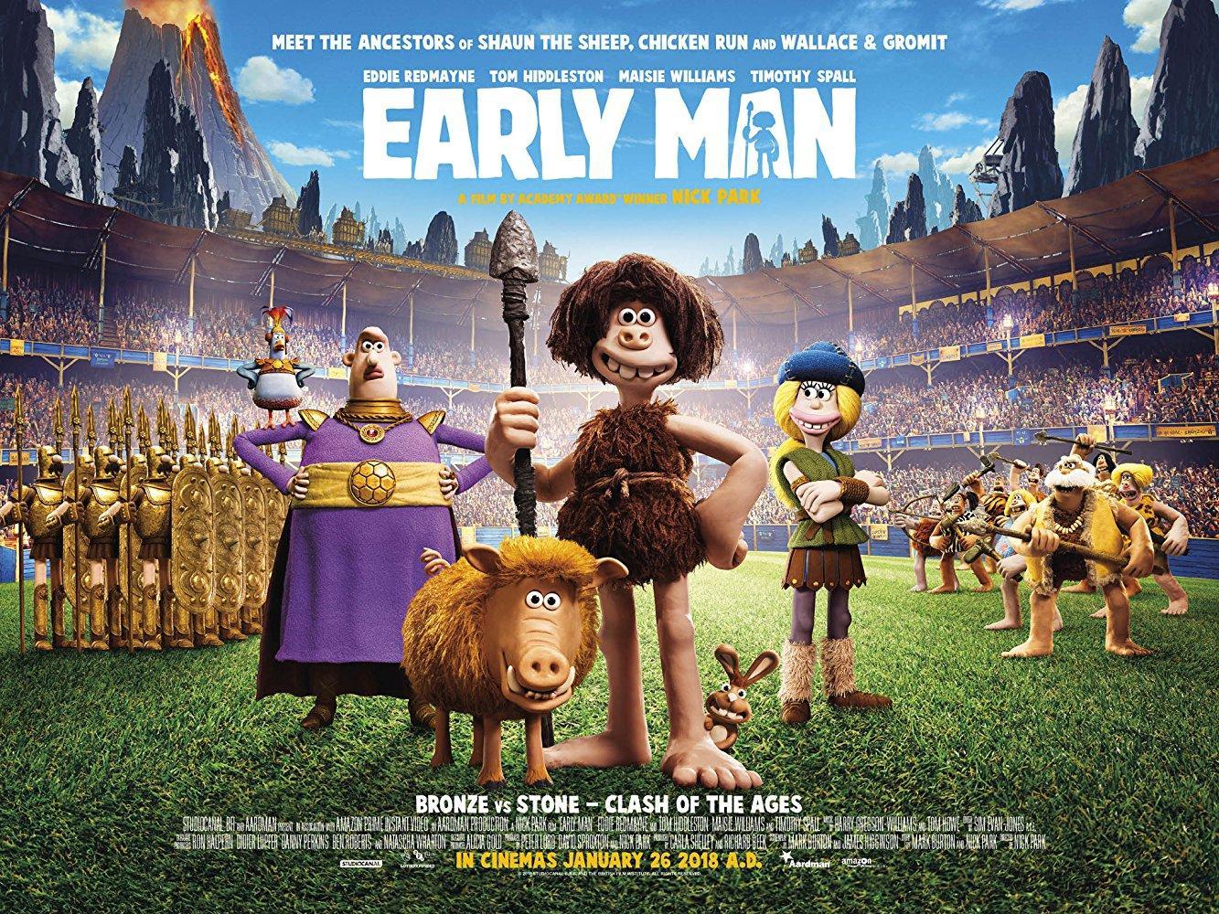 مشاهدة فيلم Early Man 2018 HD مترجم كامل اون لاين