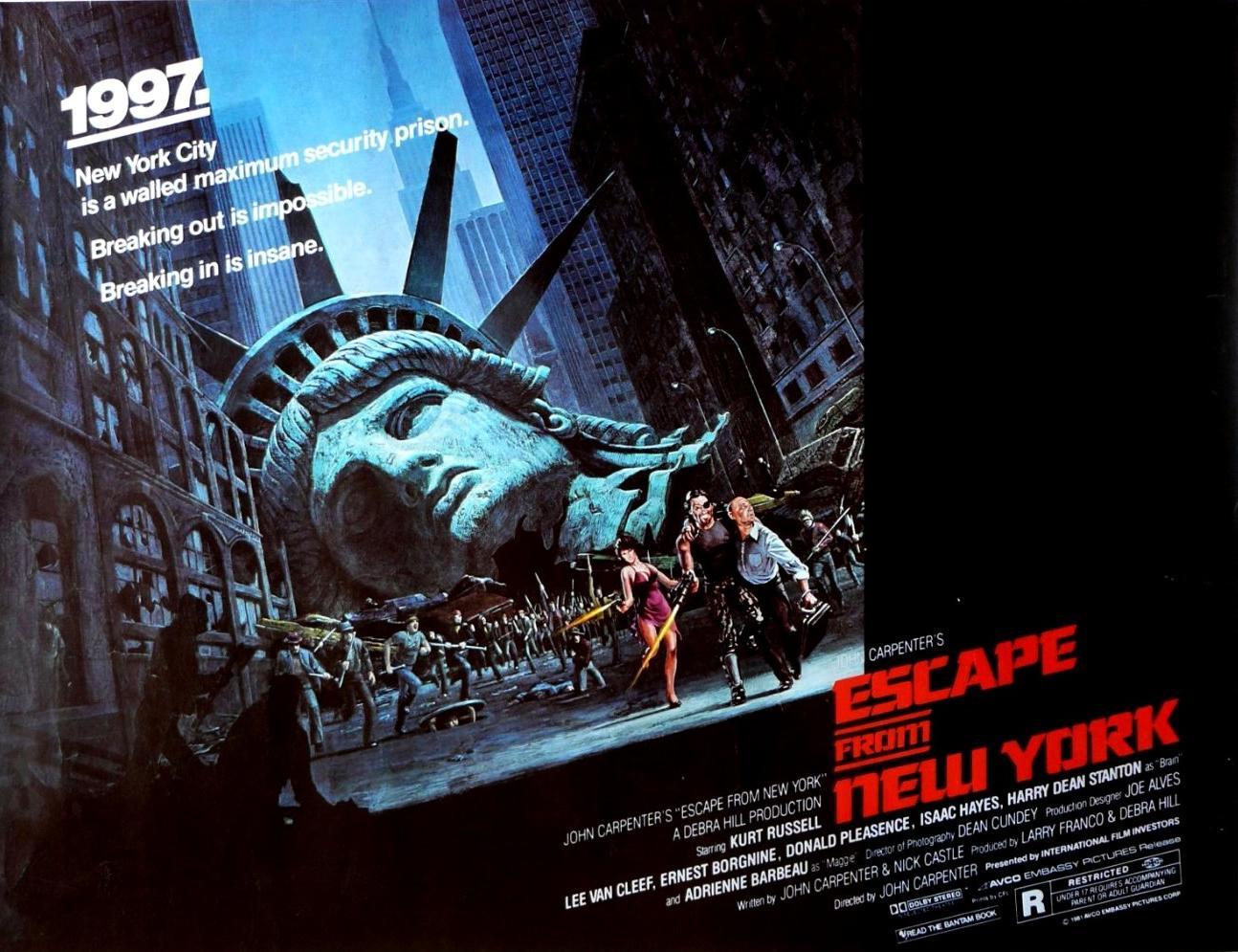 مشاهدة فيلم Escape From New York 1981 HD مترجم كامل اون لاين