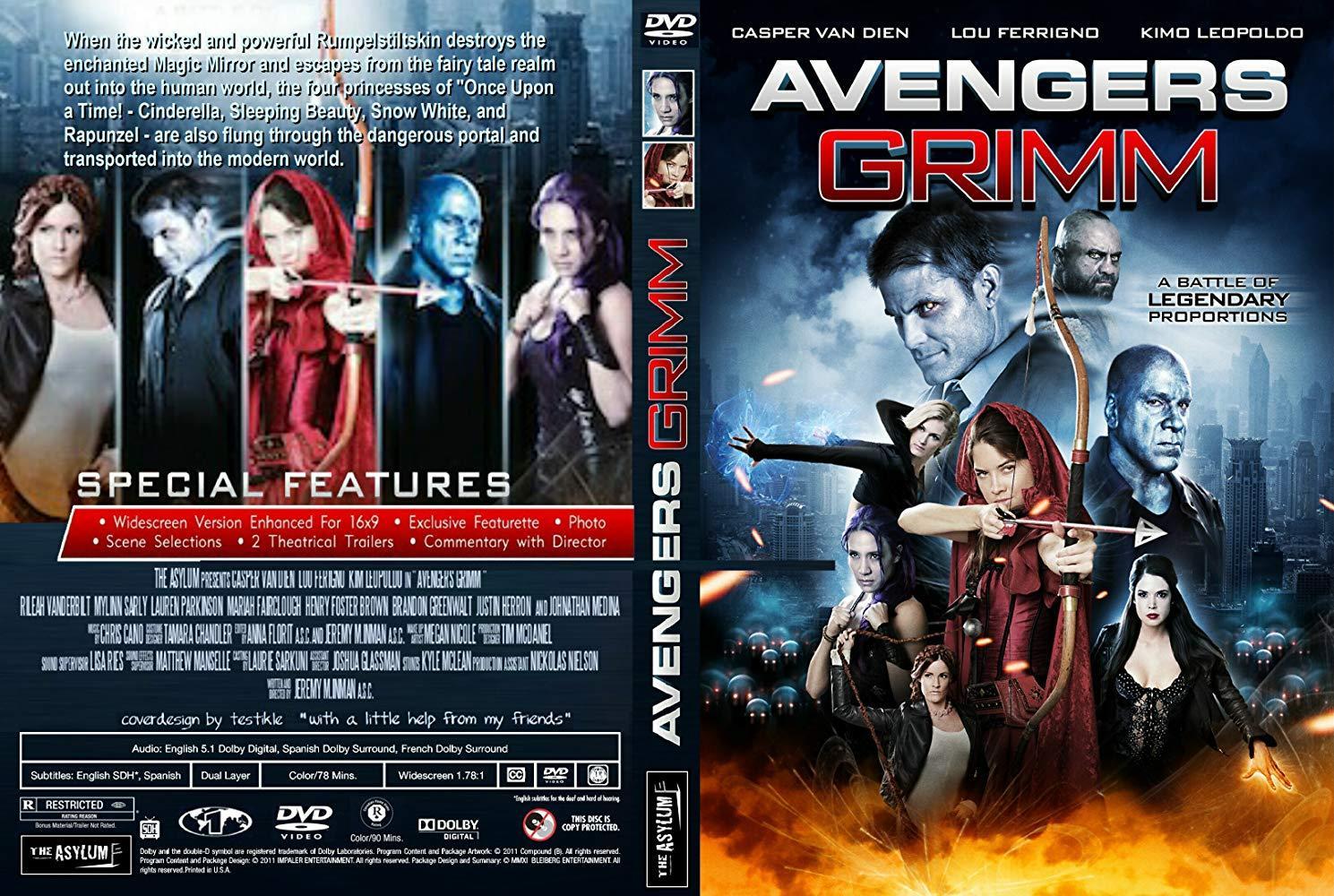 مشاهدة فيلم Avengers Grimm 2015 HD مترجم كامل اون لاين