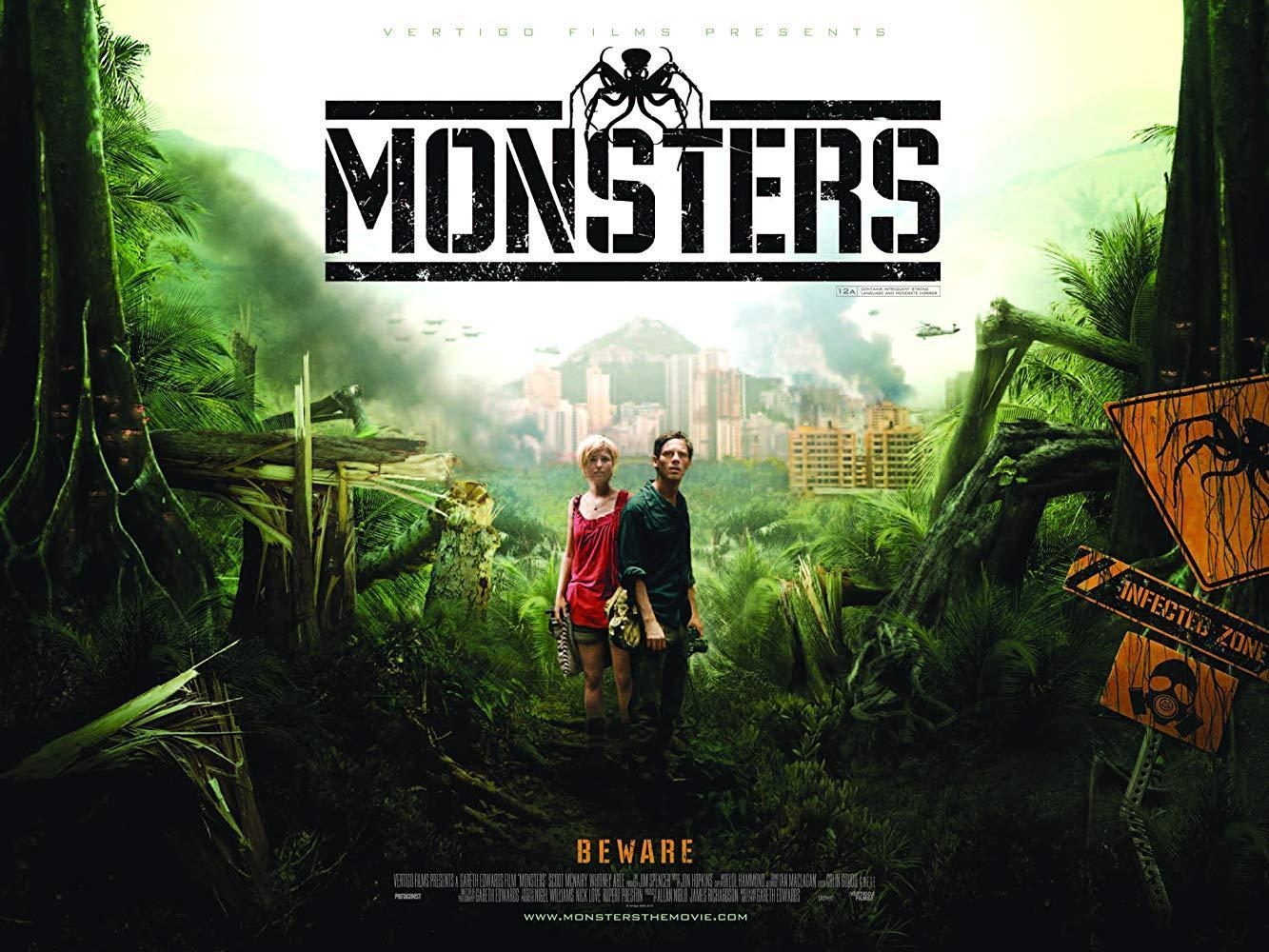 مشاهدة فيلم Monsters 2010 HD مترجم كامل اون لاين