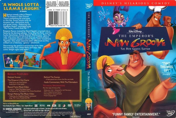 مشاهدة فيلم The Emperor's New Groove 2000 HD مترجم كامل اون لاين