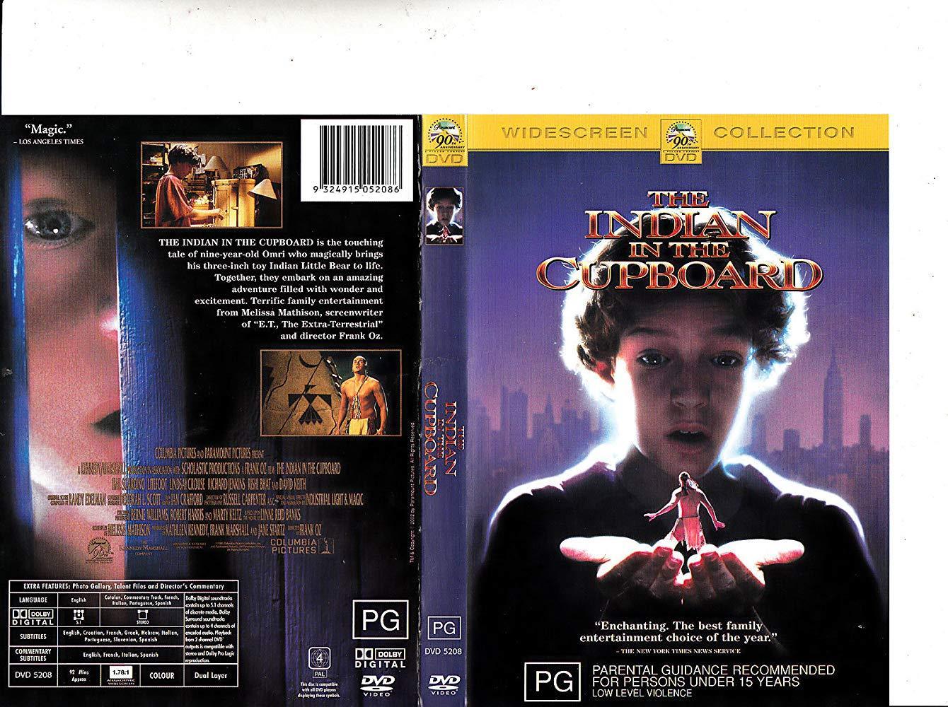 مشاهدة فيلم The Indian in the Cupboard 1995 HD مترجم كامل اون لاين